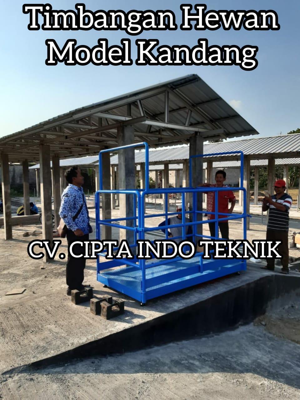 TIMBANGAN  HEWAN  MODEL KANDANG – CIPTA  INDO TEKNIK
