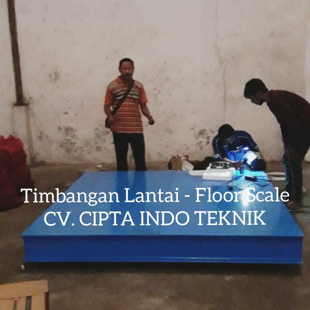 TIMBANGAN  LANTAI – FLOOR SCALE