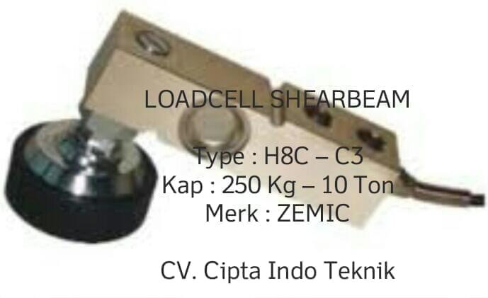 LOADCELL  H8C  MERK ZEMIC