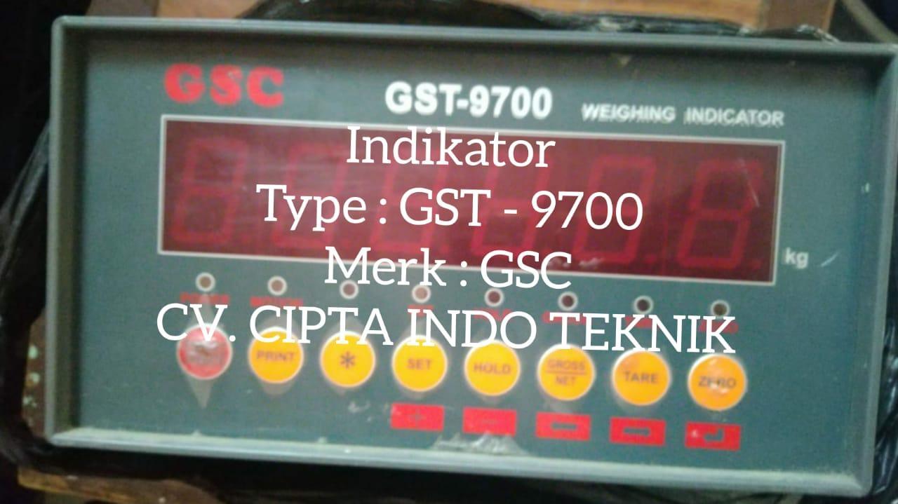 INDIKATOR GST – 9700 MERK GSC