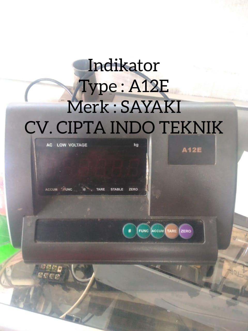 SAYAKI  – INDIKATOR  A12E  – CV. CIPTA INDO TEKNIK