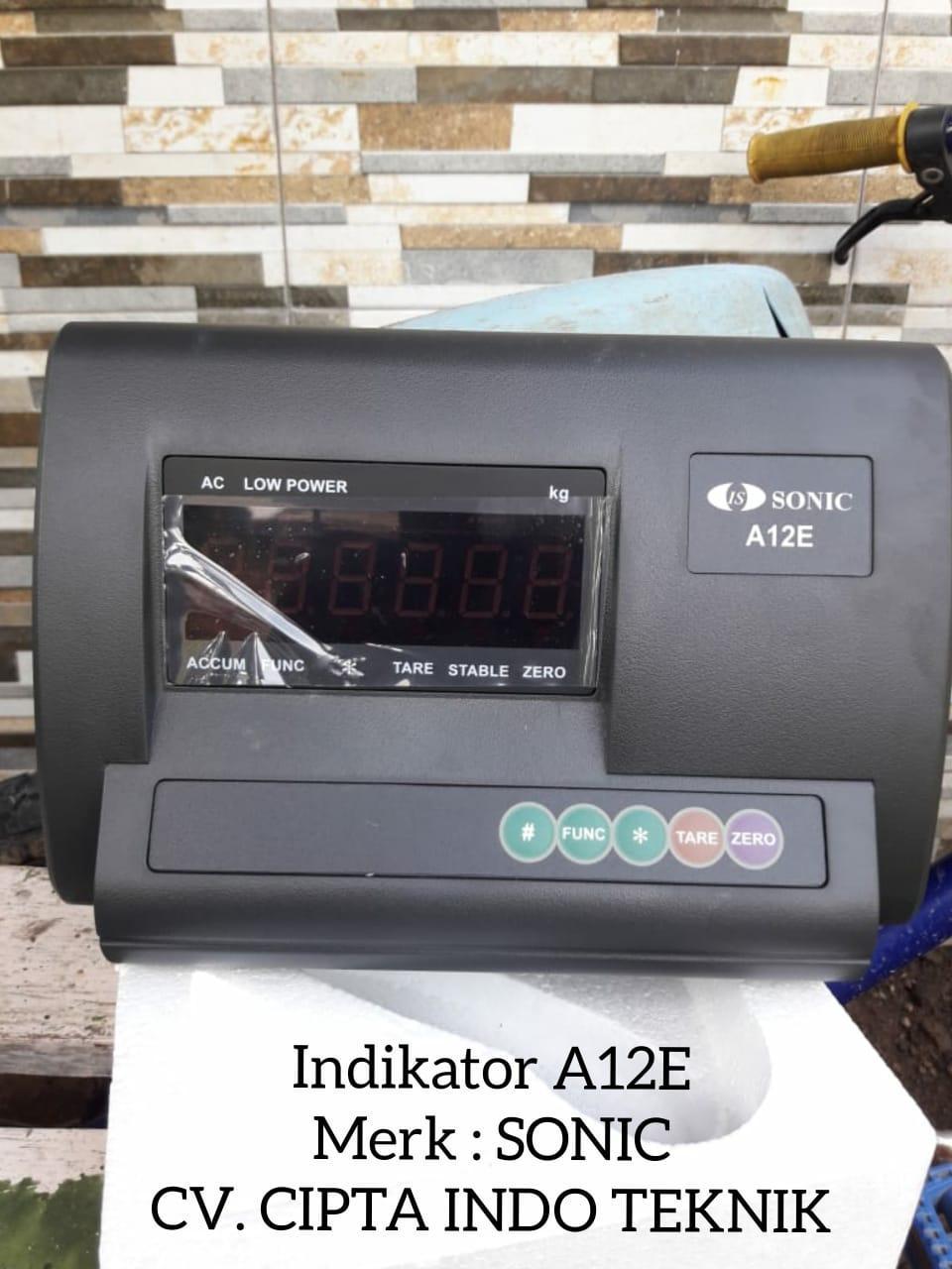 SONIC  – INDIKATOR  A12E