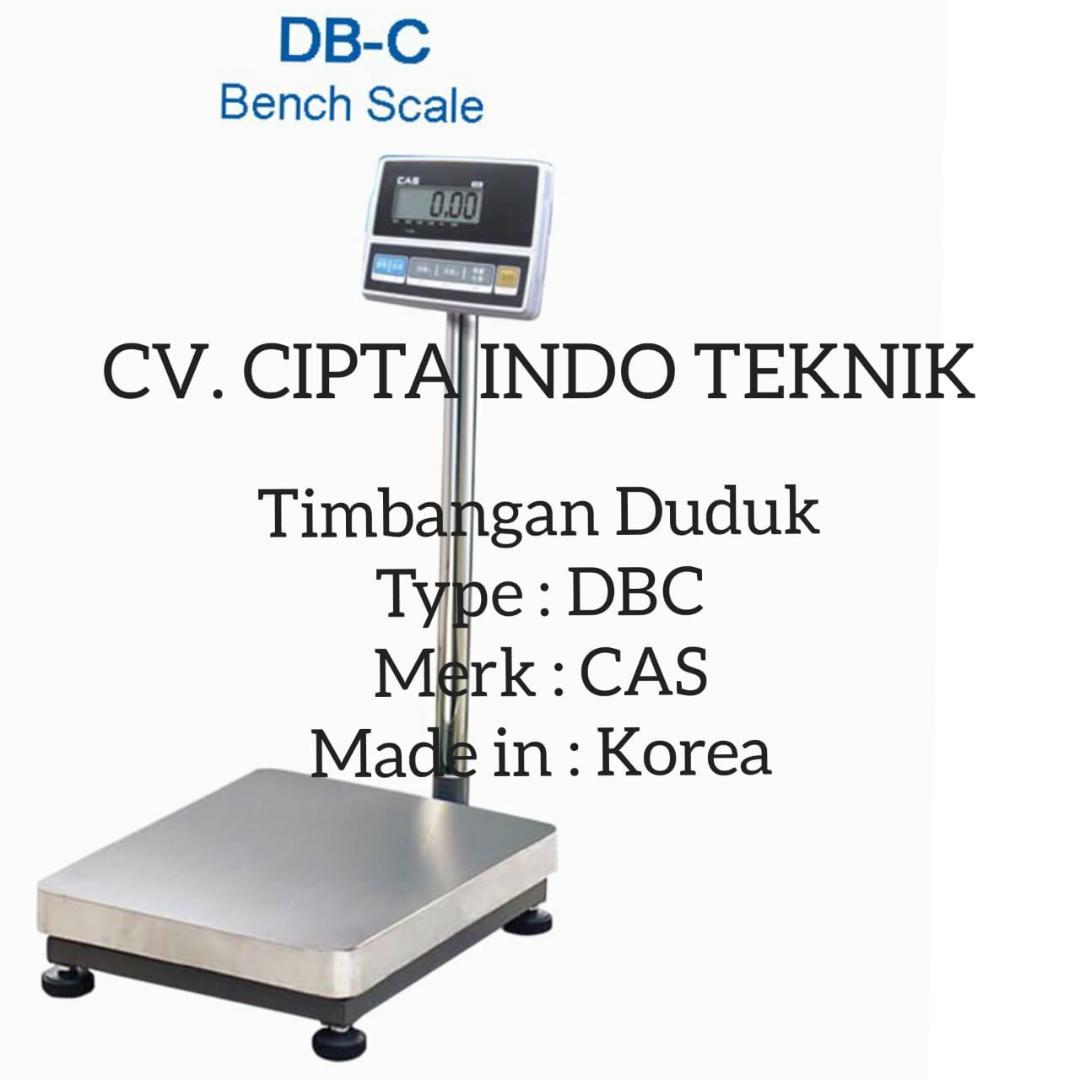 TIMBANGAN  DUDUK  – DBC  MERK CAS