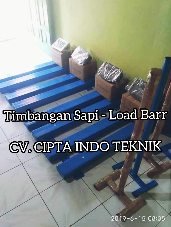 TIMBANGAN  SAPI  MODEL LOAD BARR
